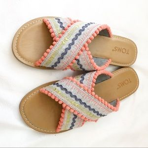 NWOB Toms Boho Sandals size 7.5